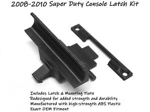 Ford Super Duty F250 F350 Oem Redesigned Center Console Latch Kit 2008 2009 2010