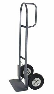Milwaukee Hand Trucks 37029 D handle Truck With 10 inch Puncture Proof Tires