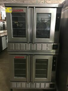 Blodgett Zephaire Double Stack Convection Oven Gas
