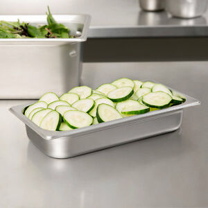 12 Pack 1 3 Size Stainless Steel Steam Prep Table Pan 12 3 4 X 7 X 2 1 2 Deep