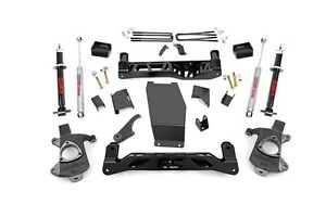 Rough Country Chevy Gmc 1500 Pickup 5 Lift W Lifted Struts 14 17 4wd Cast Steel