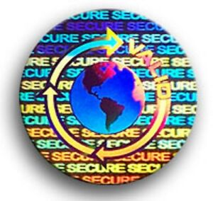 100 5000 Hologram Labels Security Sticker Seals Product Protection 5 Choices
