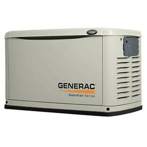 Generac 7031 Guardian Series 11kw Generator Alum Enclosure Natural Gas Propane