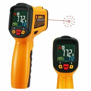 Infrared Thermometer Exeblue Digital Laser Thermometer Non Contact Kitchen Gun
