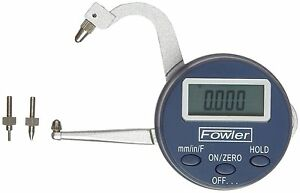Fowler 54 554 830 Xtra value Digital Thickness Gage 0 1 25 Mm Measuring Range