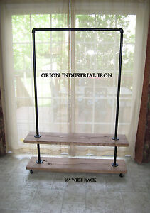 Industrial Clothing garment Rack 48