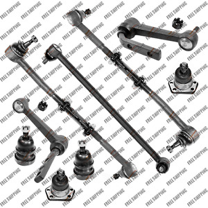 Steering Kit Idler Arm Center Link Ball Joint Tie Rods Link For Chevy Astro Rwd