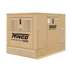Winco Pss12h2w 12kw Standby Generator Air Cooled Honda Gx690 120 240v 1 Phase