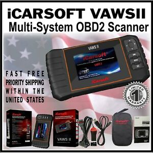 For Vw Volkswagen Audi Icarsoft Engine Diagnostic Code Tool Scanner Vaws Ii Obd2