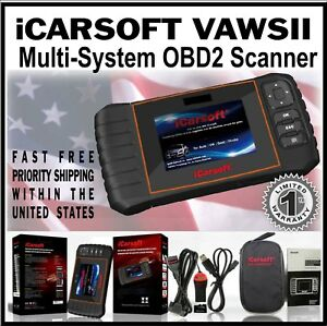 For Vw Audi Icarsoft Vaws Diagnostic Error Scan Tool Obd2 Scan Srs Abs Airbag