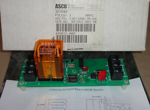 Asco Power Technologies 321a40 Auxiliary Control Relay Module 409031 002 New