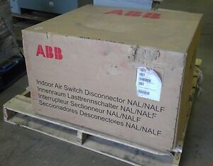 Abb 244 041 515 Versarupter Indoor Air Switch Disconnector Nal nalf 600a 15kv