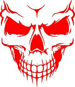 Vinyl Decal Sticker Custom Car Truck Window Graphic Skull Scary New