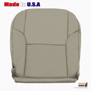 Driver Bottom Leather Cover Fits 2003 2004 2005 2006 Toyota 4runner Taupe tan
