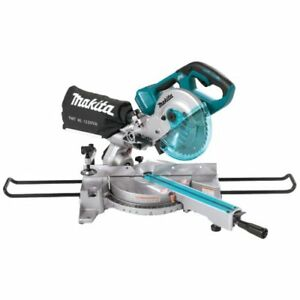 Makita Xsl02z 18v X2 Lxt Brushless 7 1 2 Dual Slide Compound Miter Saw bare To