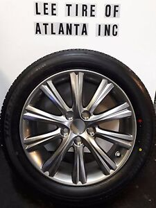 215 55 17 Bridgestone Tire And Toyota Camry Wheel