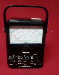 Simpson 260 Series 6 Overload Protection Multimeter