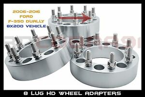 Complete Set 8x200 1 5 Inches Same Bolt Pattern Wheel Spacers 14x1 5 Studs