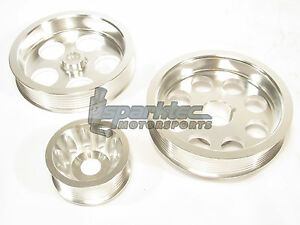 Dfj Underdrive Pulley Kit Acura Rsx Type S 2 0l Acura Tsx Honda Accord 2 4l
