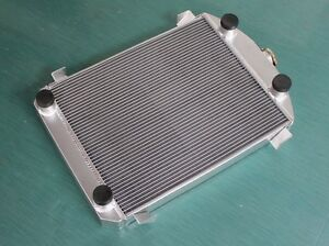 56mm Aluminum Radiator For Ford Model A Truck Pickup W Flathead Engine 1930 1931