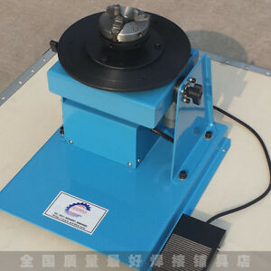10kg Automatic Welding Positioner With K11 80mm 3 jaw Chuck 220v