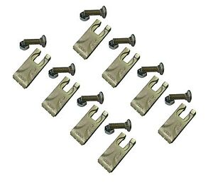 8 Carbide Auger Teeth 134519 40 50 Size Tooth For Pengo Aggressor Auger