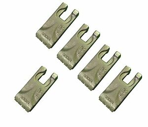 5 Carbide Auger Teeth 134519 40 50 Size Tooth For Pengo Aggressor Auger
