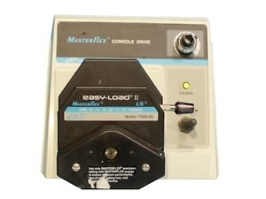 Cole parmer 7521 40 Masterflex Peristaltic Pump Drive With Easy load Ii Head