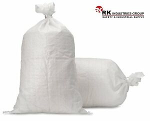 Rk Polypropylene Empty Sandbag Sand Bag With Built in Ties Uv Protection