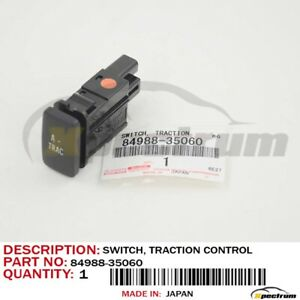 Genuine Toyota Oem Fj Cruiser Traction Switch 84988 35060