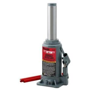 Pro Lift 30 Ton Hydraulic Bottle Jack B 033d
