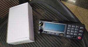 New Macom Harris M a com M7300 Mobile Radio Control Head Unit W Mic Included