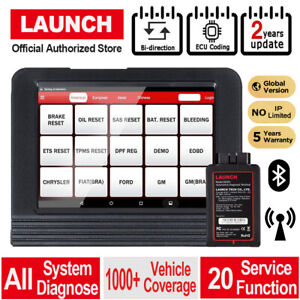 Launch X431 V Scanpad Diagnostic Tool All System Key Coding Obd2 Scanner As V