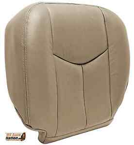 2003 2004 2005 2006 2007 Gmc Sierra Hd Sle Slt Z71 Bottom Seat Cover Tan vinyl