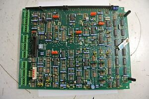 Ssd 540 Control Board Printed 051900 Iss 3 Circuit Board Used
