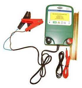 Electric Fence Energiser 12v 0 6j 2 Years Warranty For Sheep Horses Cows Ect