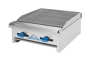 Comstock Castle Elb18 18 Charbroiler Counter Top Lavarock Gas Char Grill