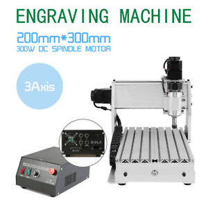 Cnc3020t 3 Axis Engraver Usb Router Engraving drilling milling Machine 3d Cutter