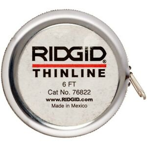 Ridgid 76822 Diameter Tape inches