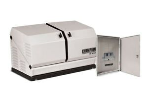 Champion 100291 12 5kw Standby Power Backup Generator Lp Propane Ng Ats Nema 3r