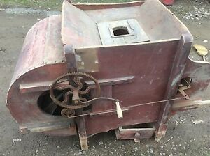Primitive Fan Mill Wood Crank Seed Separator Farm Country Stenciling
