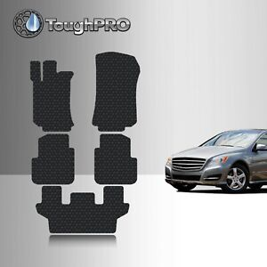 Toughpro Floor Mats 3rd Row Black For Mercedes benz R Class 2006 2013
