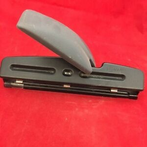 Acco 3 Hole Punch Adjustable Desk Accesories Office Supplies