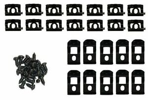 Mopar Front Windshield Window Trim Clips Clip Kit 66 67 Coronet Charger Gtx
