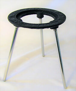 Lab Bunsen Burner Tripod Cast Iron Support Stand 6 Height New
