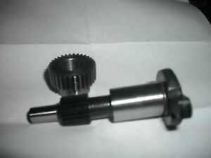 Farmall Tractor 4 Cylinder Ih Distributor Drive Gear And Shaft