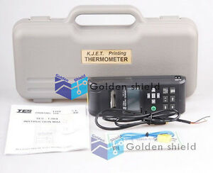 Tes 1304 Printing Thermometer Type K j e t Thermocouple Input 0 50 32 122