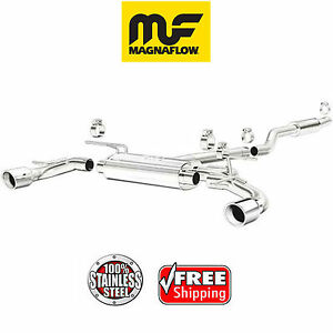 Magnaflow Cat Back Dual Exhaust System 2014 2018 Mazda 3 2 0l Stainless 15294