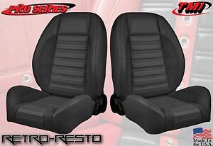 Complete Seats sport R Universal Low back Bucket Seats W Brackets