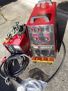 Lincoln Invertec Stt Ii Welder With Lincoln Ln 742 Feeder